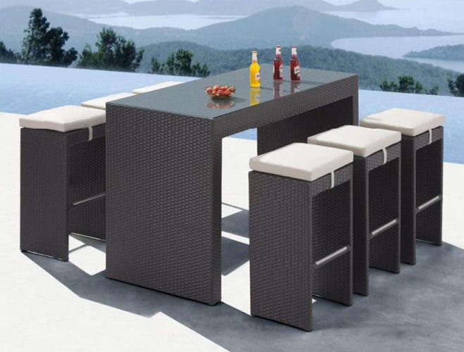 Woodware All Weather Furniture Bar Collection