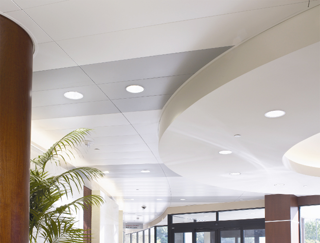 Ceiling tiles commercial